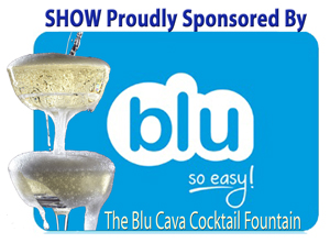 Blue Cava Fountain